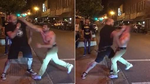 Actu WTF #3 Homme saoul VS combattant MMA : Aoutch!